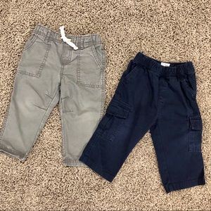 5/$25, 2 pairs of boys pants 12-18 months